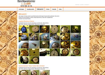 WEB-Villa Uhrenreparaturservice