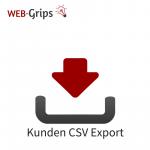 Benutzer /Kunden CSV Export