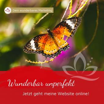 Wunderbar unperfekt - starte deine Website Basic
