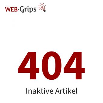 404 Fehlerseiten für inaktive Artikel CE/PE | 4.10.x