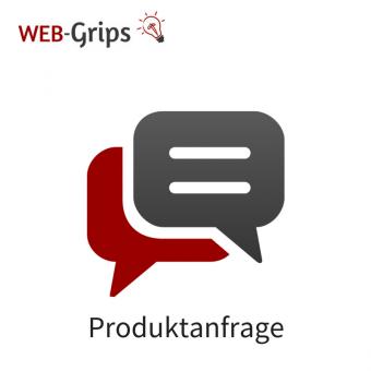 Produkt-Anfrage Formular mit Service
