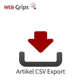 Artikel / Produkt CSV Export CE/PE | 6.x