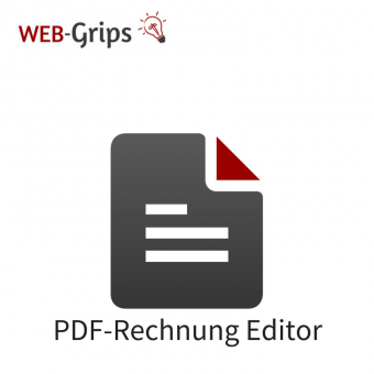Rechnung (PDF) selbst anpassen CE/PE | 4.10.x