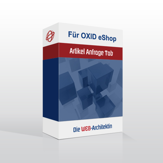OXID Modul Anfrage-Tab