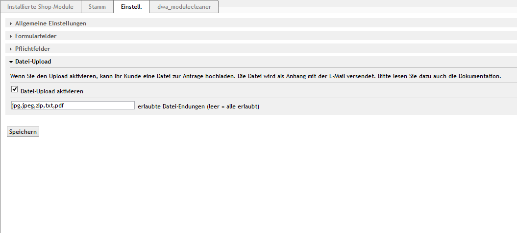 Produkt-Anfrage Formular CE/PE | 4.10.x | WEB-Grips Shop