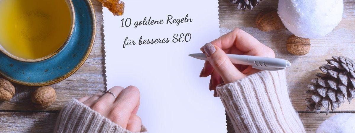 10 goldene Regeln