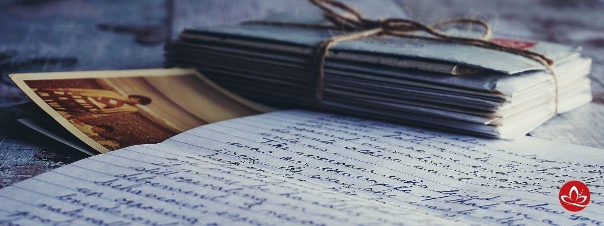 handgeschriebene Briefe