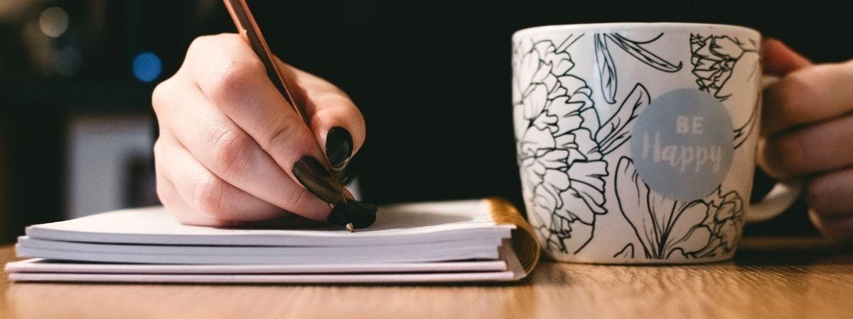 Schreib und sei happy!