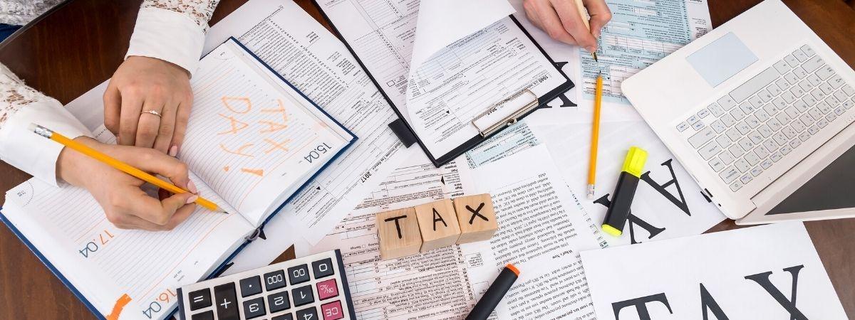 Unterlagen zur Steuer