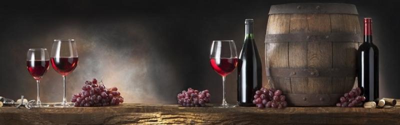Wein, Fass und Flaschen